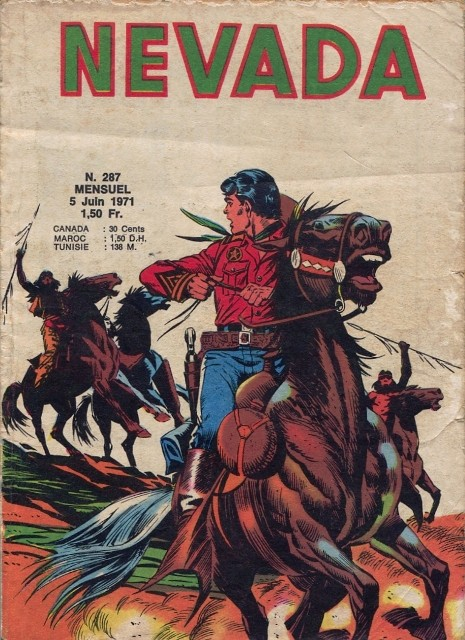 Couverture de Nevada (LUG) -287- Numéro 287