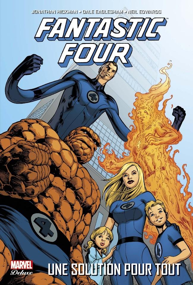 Couverture de Fantastic Four (Vol.2) (Marvel Deluxe) -1- Une Solution pour tout