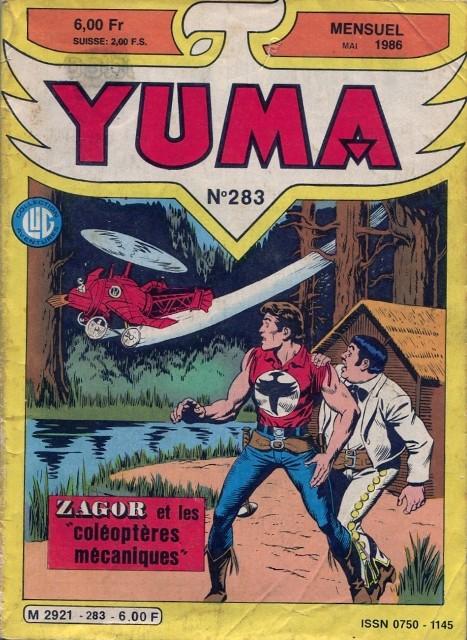 Couverture de Yuma (1re série) -283- La fin des abysses