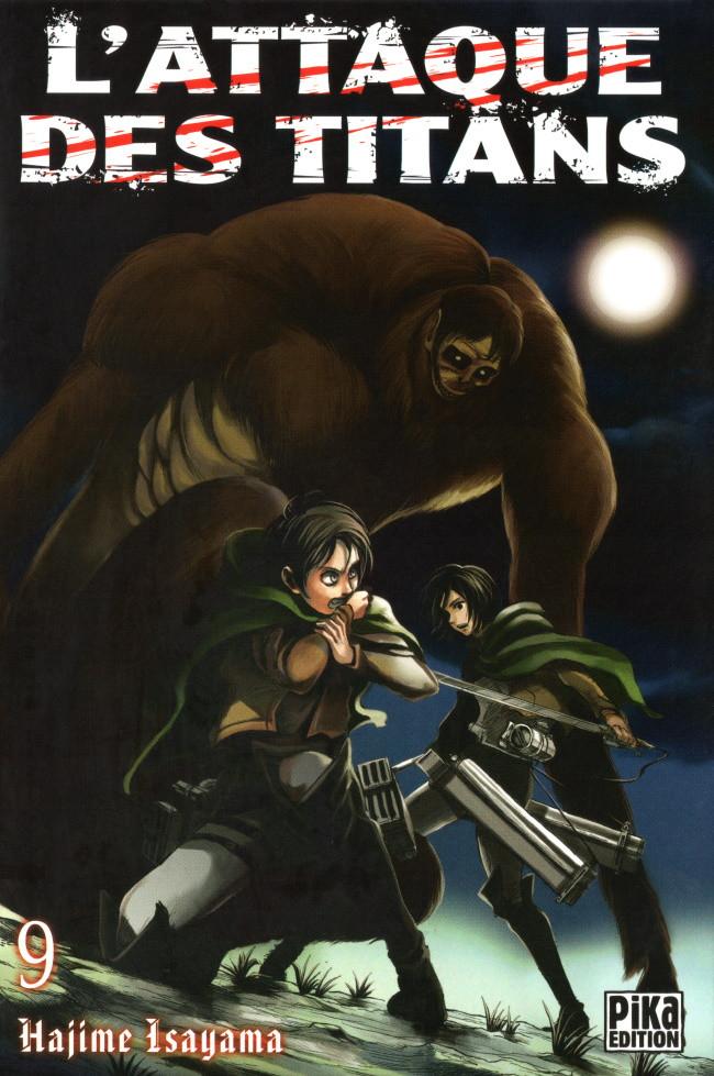 Couverture de L'attaque des Titans -9- Tome 9