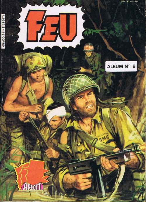 Couverture de Feu -Rec28- Album n°8 (63, 64, 65, 66)