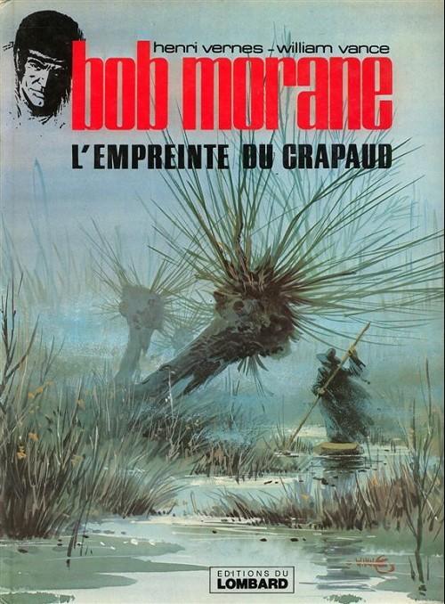 Couverture de Bob Morane 3 (Lombard) -26- L'empreinte du crapaud
