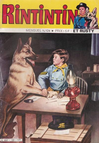 Couverture de Rin Tin Tin & Rusty (2e série) -124- Rintintin vedette de cirque