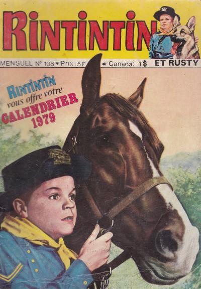 Couverture de Rin Tin Tin & Rusty (2e série) -108- La mine d'O'Hara