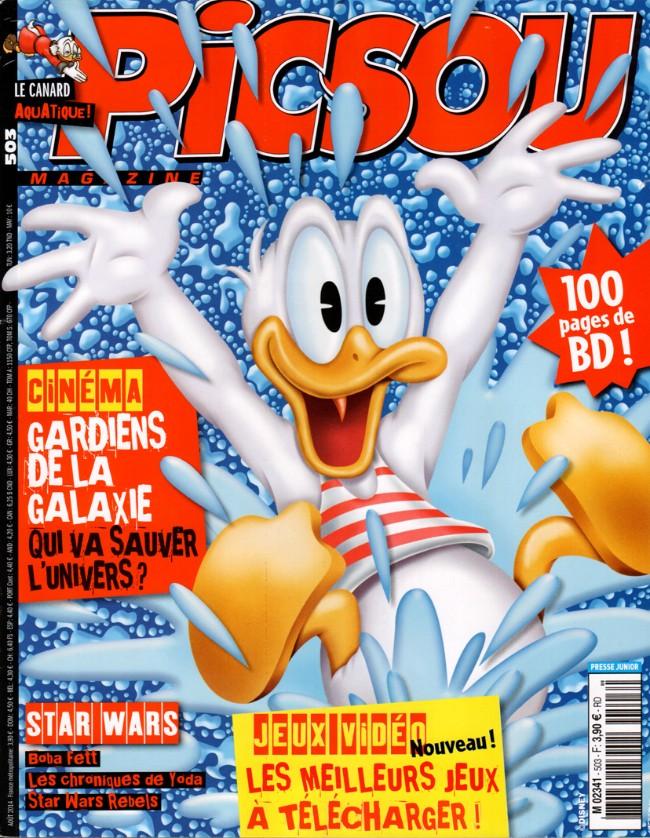 Couverture de Picsou Magazine -503- Picsou Magazine n° 503