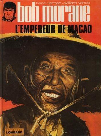 Couverture de Bob Morane 3 (Lombard) -27- L'empereur de Macao