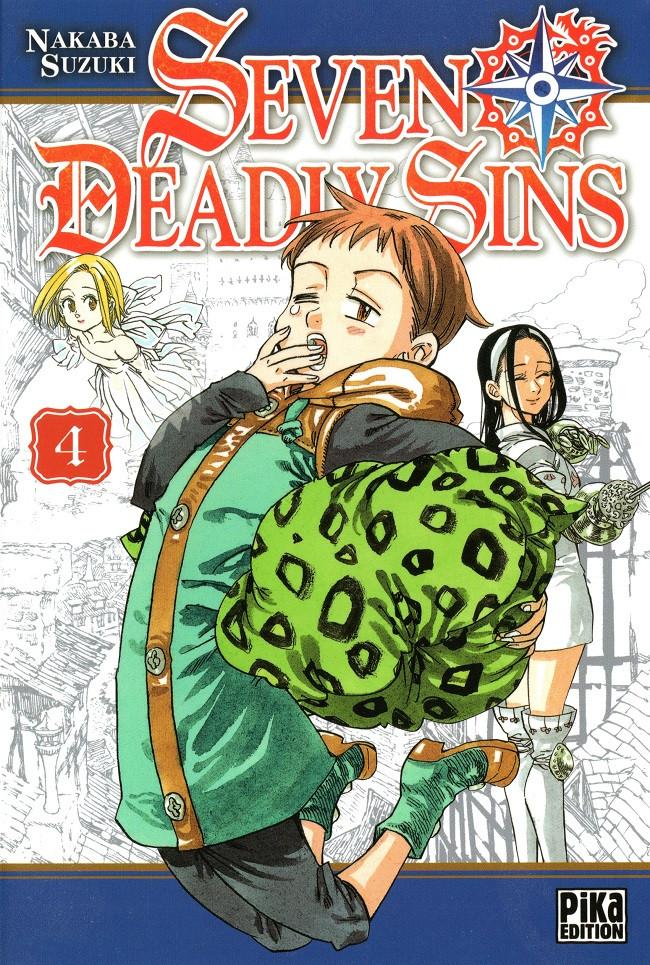 Couverture de Seven Deadly Sins -4- Tome 4