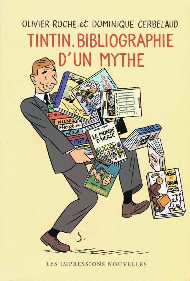 Couverture de Tintin - Divers - Tintin, bibliographie d'un mythe