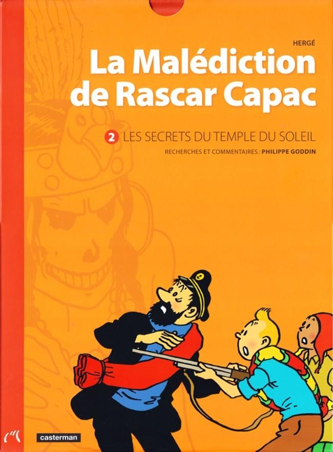 Couverture de Tintin - Divers -14- La Malédiction de Rascar Capac - Volume 2 : Les Secrets du temple du Soleil
