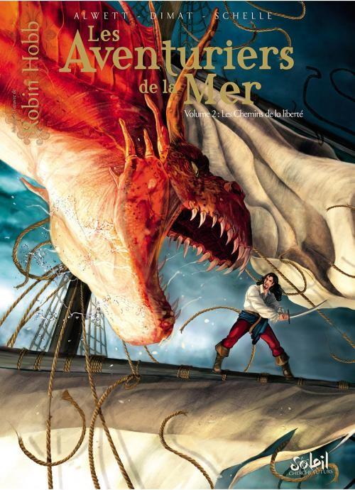 Couverture de Les aventuriers de la Mer -2- Les chemins de la liberté