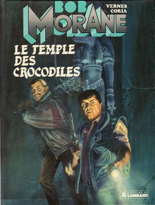 Couverture de Bob Morane 3 (Lombard) -42- Le temple des crocodiles