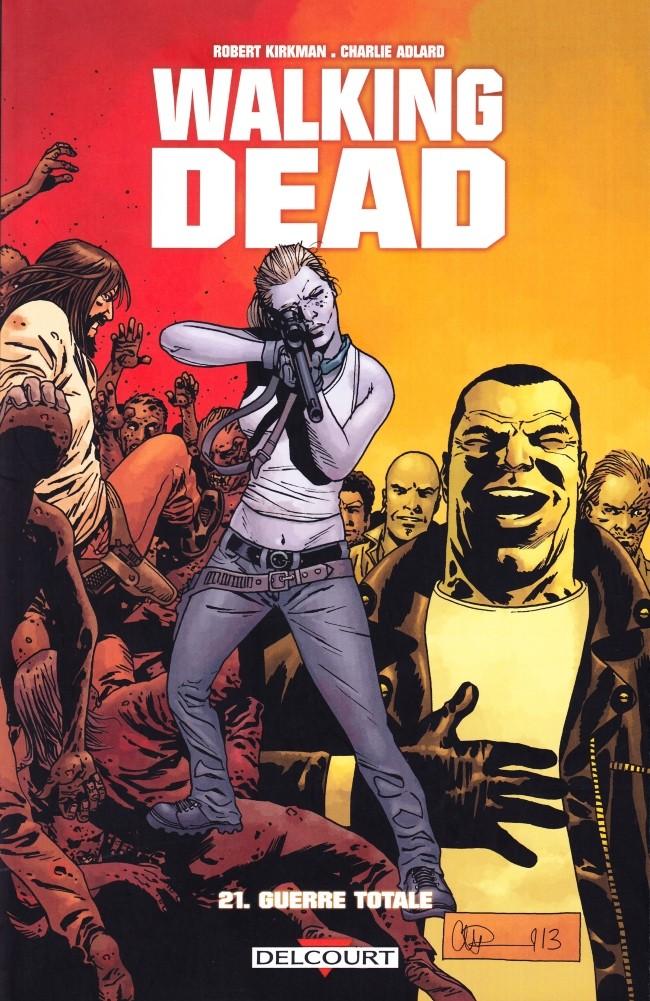 Couverture de Walking Dead -21- Guerre totale