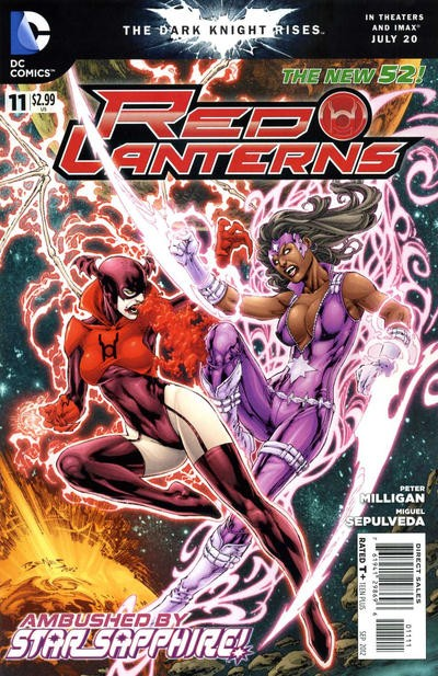 Couverture de Red Lanterns (2011) -11- Love and hate
