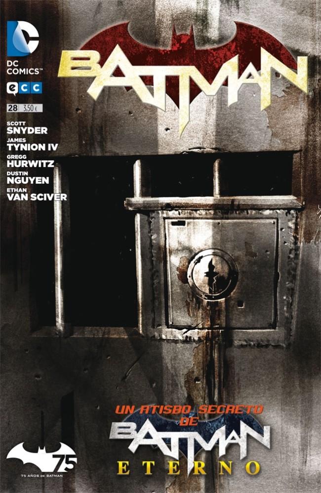 Couverture de Batman (en espagnol) -28- Un atisbo secreto de Batman Eterno