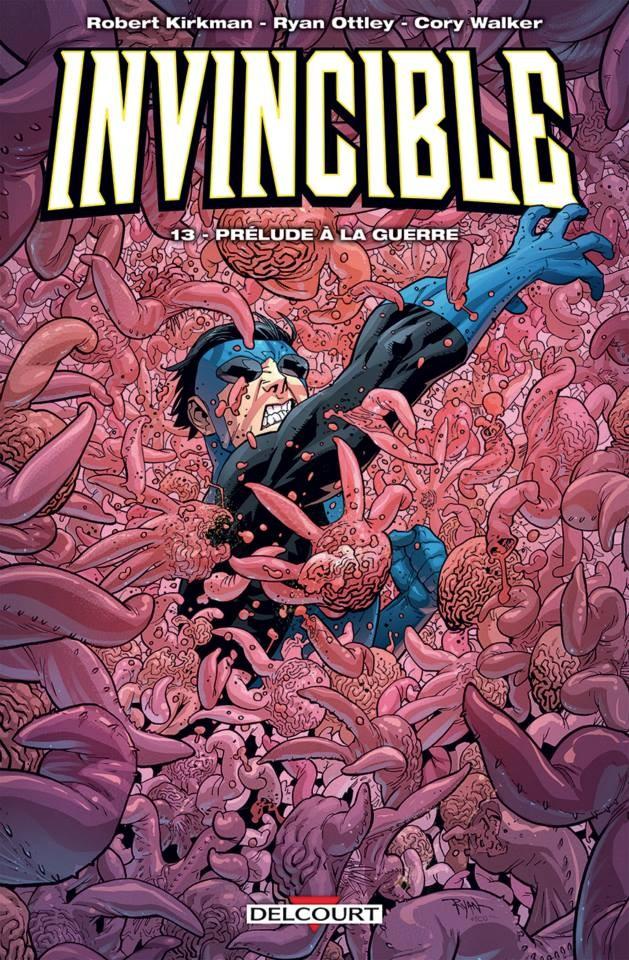 Couverture de Invincible -13- Prélude à la Guerre