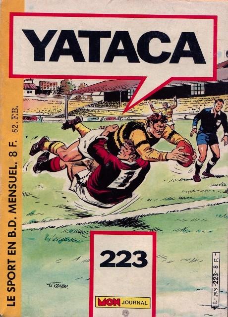 Couverture de Yataca (Fils-du-Soleil) -223- Goal Keeper - Règlement de comptes !