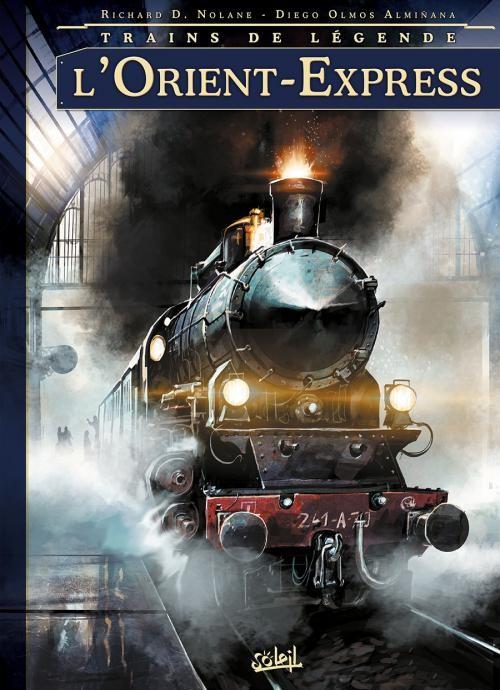 Couverture de Trains de légende -1- L'Orient-Express