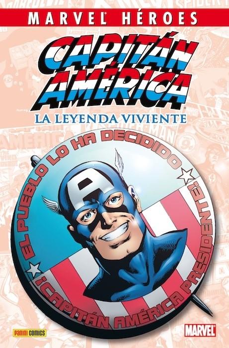 Couverture de Marvel Héroes -3- Capitán América: La leyenda viviente