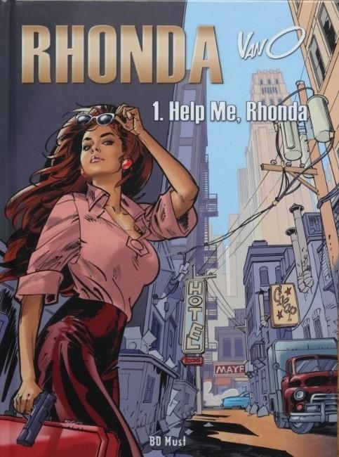 Couverture de Rhonda -1- Help me, Rhonda