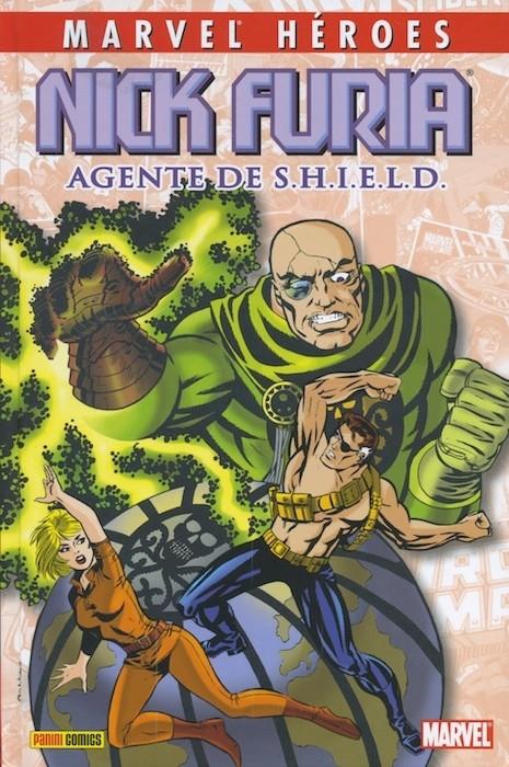 Couverture de Marvel Héroes -10- Nick Furia: Agente de SHIELD