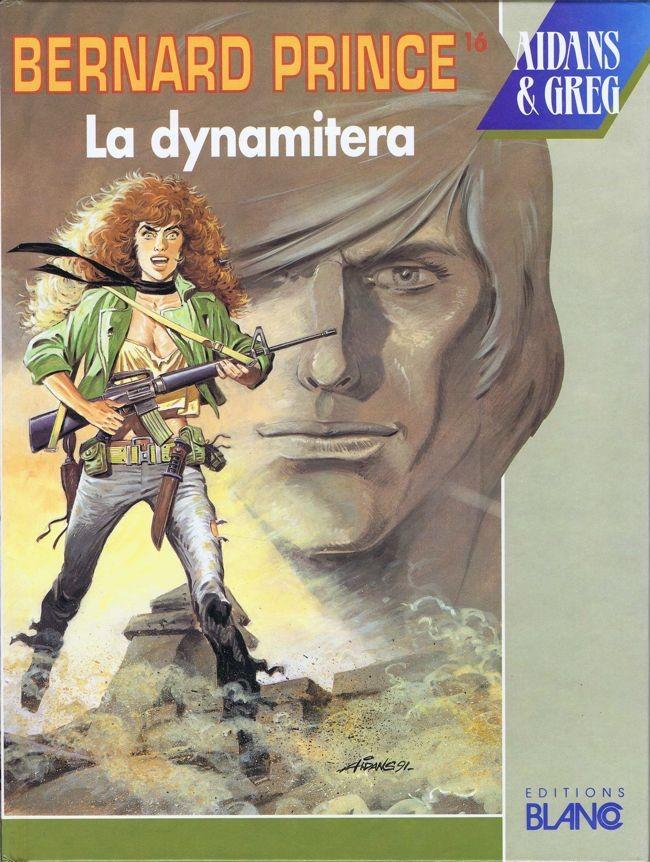 Couverture de Bernard Prince -16- La dynamitera