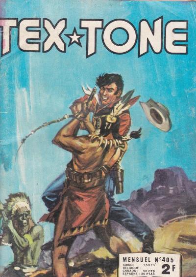 Couverture de Tex-Tone -405- Le maître d'école