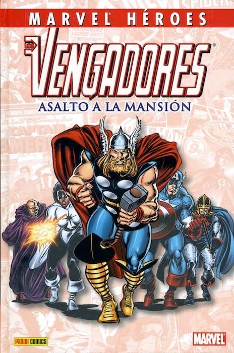 Couverture de Marvel Héroes -24- Los Vengadores: Asalto a la Mansión