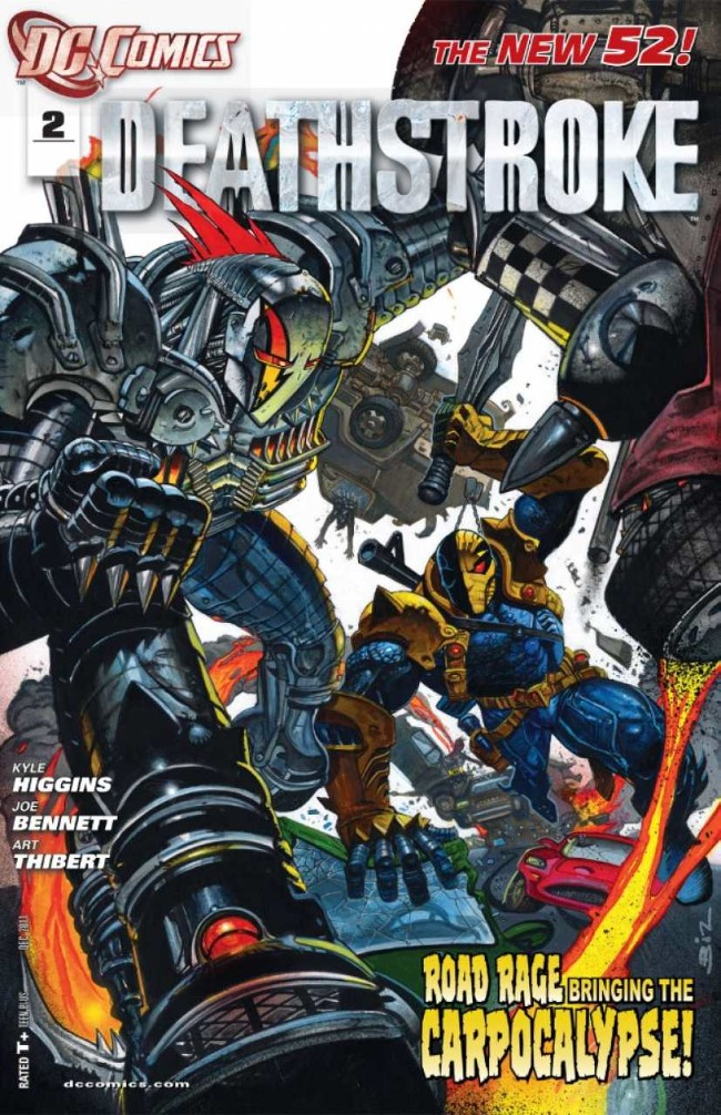 Couverture de Deathstroke (2011) -2- The carpocalypse