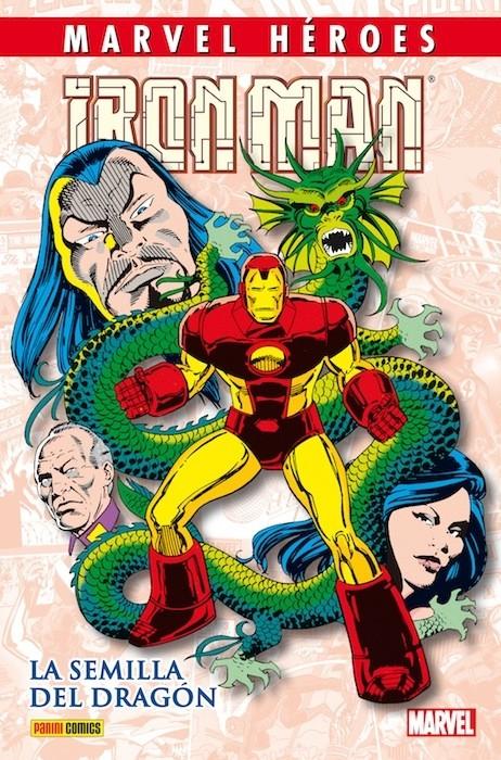 Couverture de Marvel Héroes -35- Iron Man: La semilla del dragón