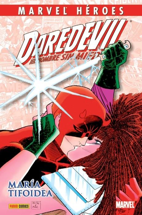 Couverture de Marvel Héroes -39- Daredevil: María Tifoidea