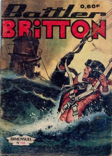 Couverture de Battler Britton -244- Via Paris
