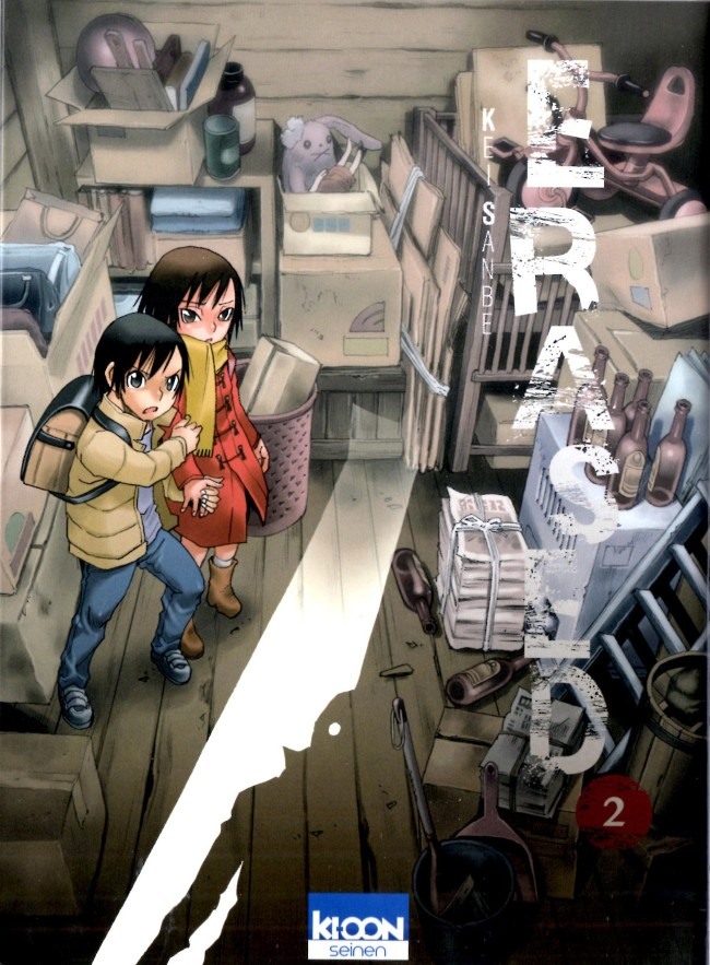 Couverture de Erased -2- Volume 2