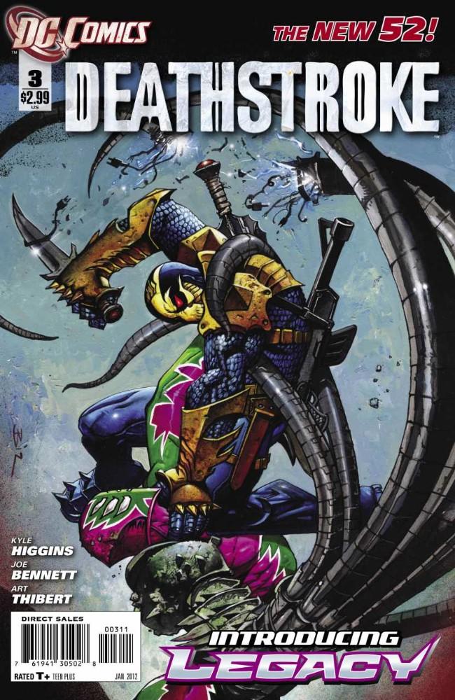 Couverture de Deathstroke (2011) -3- Legacy