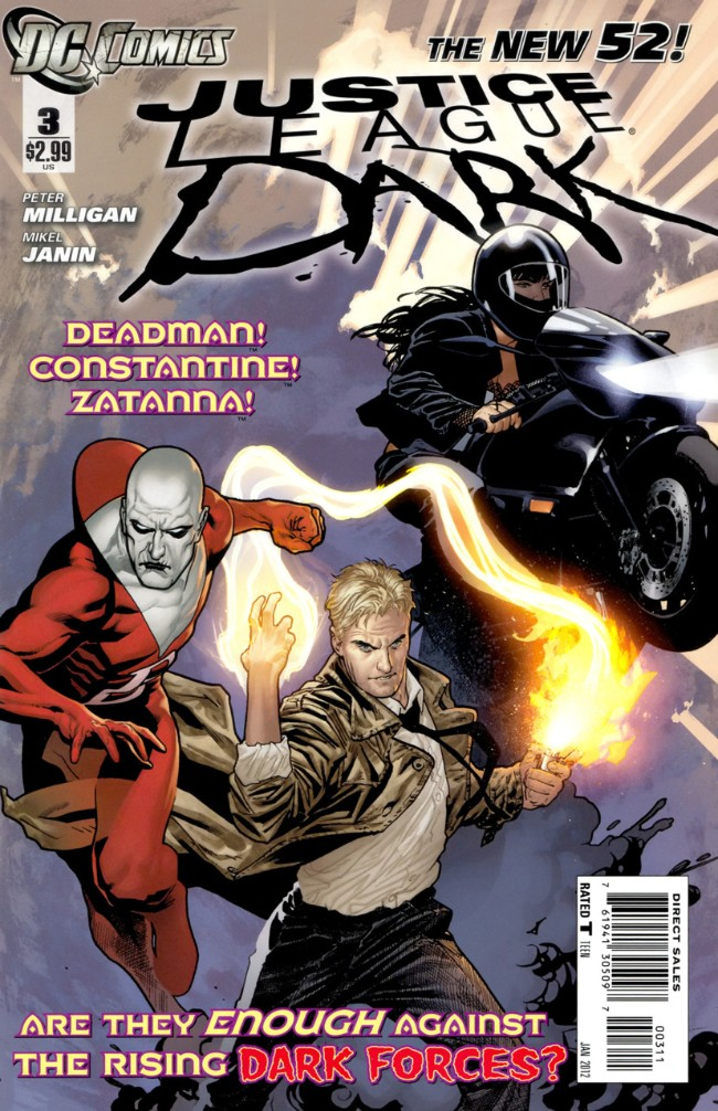 Couverture de Justice League Dark (2011) -3- In the Dark, Part Three: Shibboleths and Alcohol
