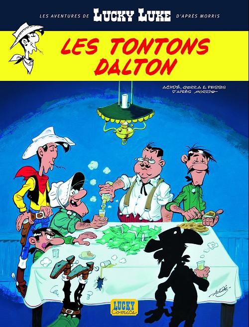 Couverture de Lucky Luke (Les aventures de) -6- Les tontons Dalton