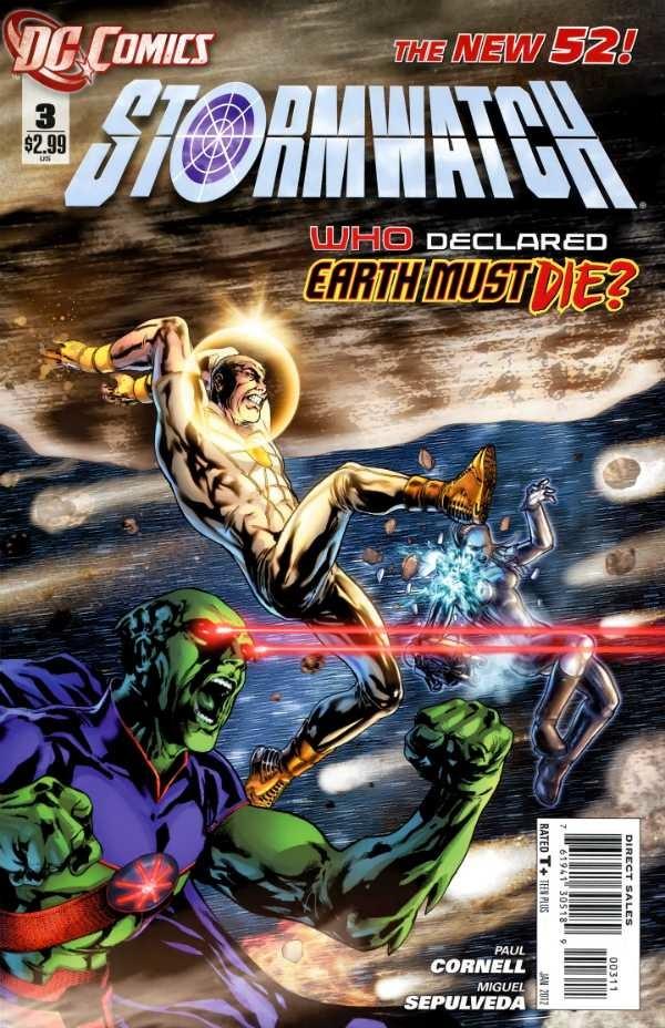Couverture de Stormwatch (2011) -3- The Dark Side, part 3