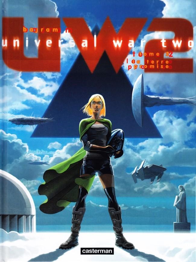 Couverture de Universal War Two -2- La terre promise