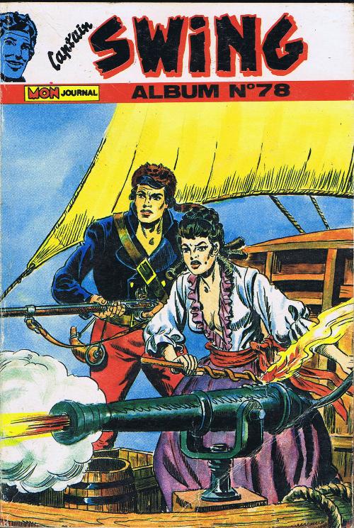 Couverture de Capt'ain Swing! (1re série) -Rec078- Album N°78 (du n°264 au n°266)