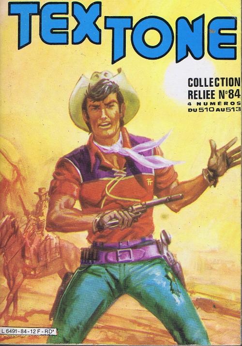 Couverture de Tex-Tone -Rec84- Collection reliée N°84 (du n°510 au n°513)