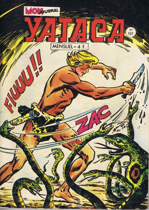 Couverture de Yataca (Fils-du-Soleil) -157- Le carnet fatal