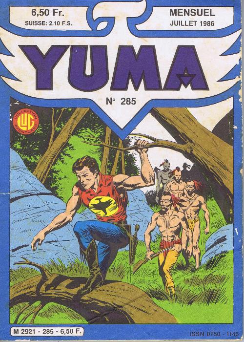 Couverture de Yuma (1re série) -285- l'otage Chico