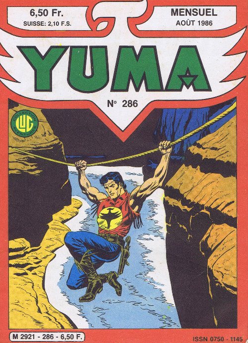 Couverture de Yuma (1re série) -286- Face a one Eyed-Jack!