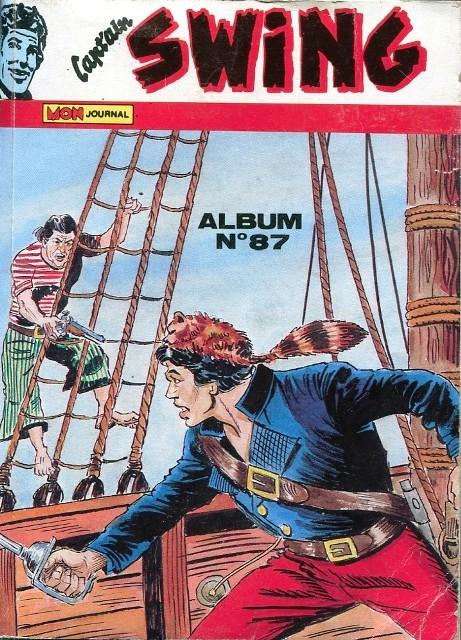 Couverture de Capt'ain Swing! (1re série) -Rec087- Album N°87 (n°236, n°244 et n°234)