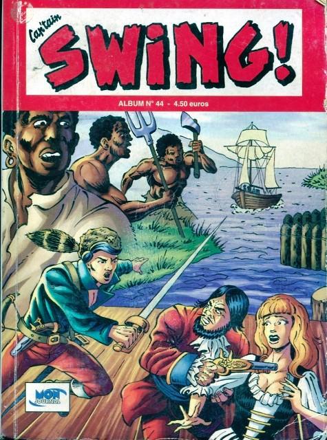 Couverture de Capt'ain Swing! (2e série - Mon Journal) -Rec44- Album N°44 (du n°131 au n°133)