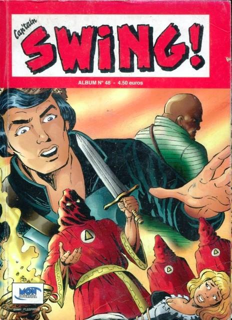 Couverture de Capt'ain Swing! (2e série - Mon Journal) -Rec48- Album N°48 (du n°143 au n°145)