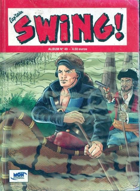 Couverture de Capt'ain Swing! (2e série - Mon Journal) -Rec49- Album N°49 (du n°146 au n°148)