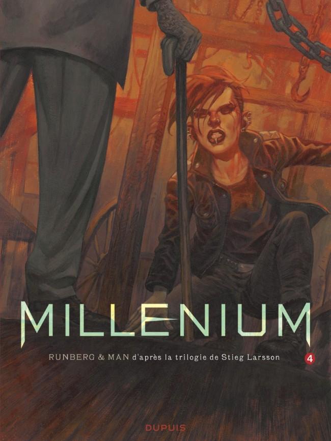 Couverture de Millénium -4- La fille qui rêvait d'un bidon d'essence et d'une allumette - Seconde partie