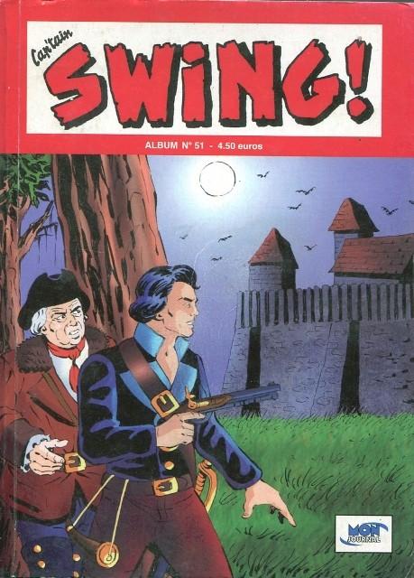 Couverture de Capt'ain Swing! (2e série - Mon Journal) -Rec51- Album N°51 (du n°152 au n°154)