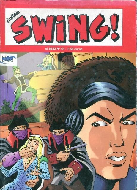 Couverture de Capt'ain Swing! (2e série - Mon Journal) -Rec53- Album N°53 (du n°158 au n°160)