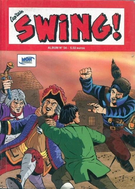 Couverture de Capt'ain Swing! (2e série - Mon Journal) -Rec54- Album N°54 (du n°162 au n°164)
